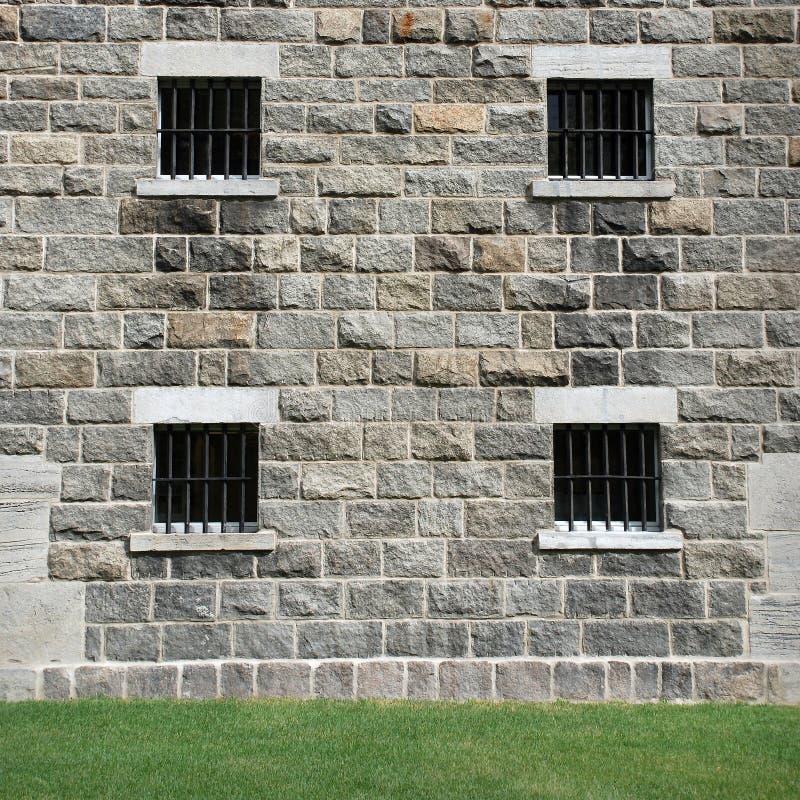 Free Stone Window With Metal Lattice Stock Photography - 15820822