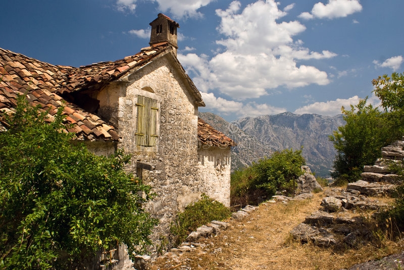 Download Stoned House Mediterranean Landscape Stock Photo - Image: 6965786