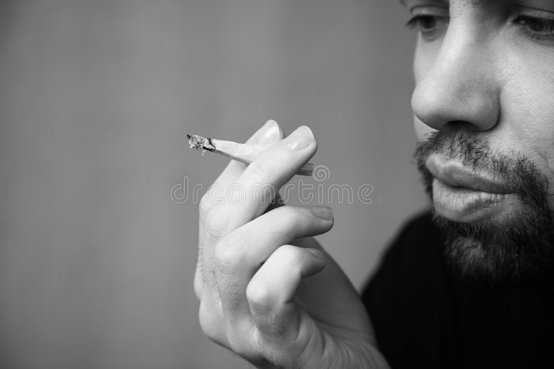 Download Stoned man stock photo. Image of hippie, lifestyles, finger - 4821184