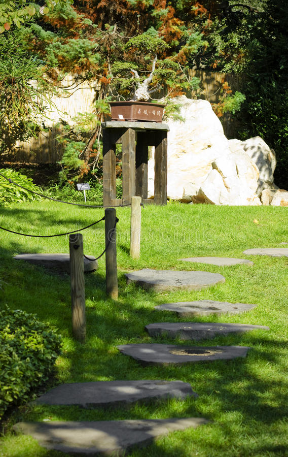 Download Stoned Path In Japanese Garden Stock Photography - Image: 27944652