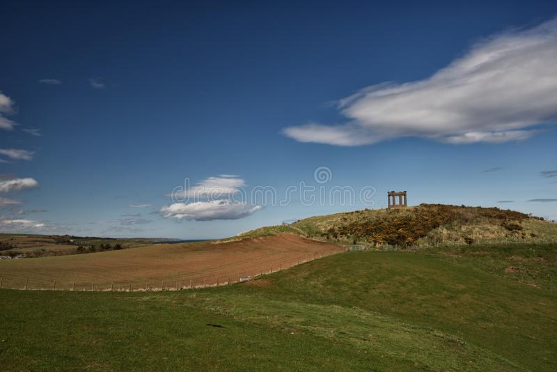 Stonehaven War Memorial royalty free stock photography