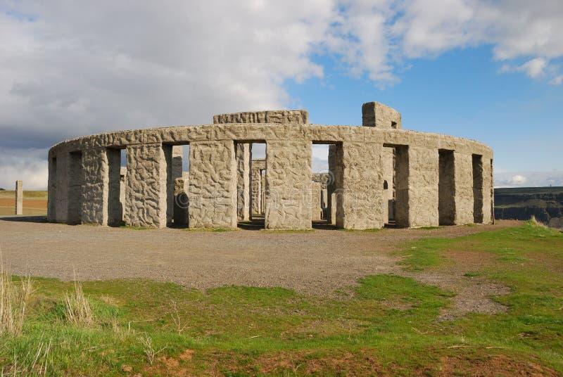 Stonehedge Washington royalty free stock photography