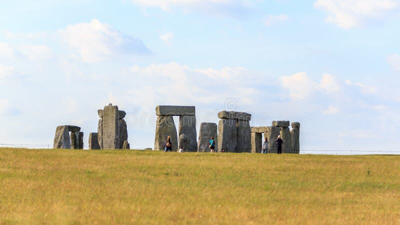 Stonehene, UK στοκ φωτογραφία με δικαίωμα ελεύθερης χρήσης