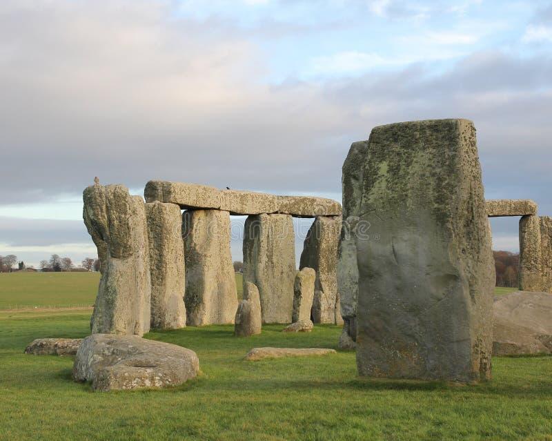 stonehenge Англии Великобритания стоковые изображения rf
