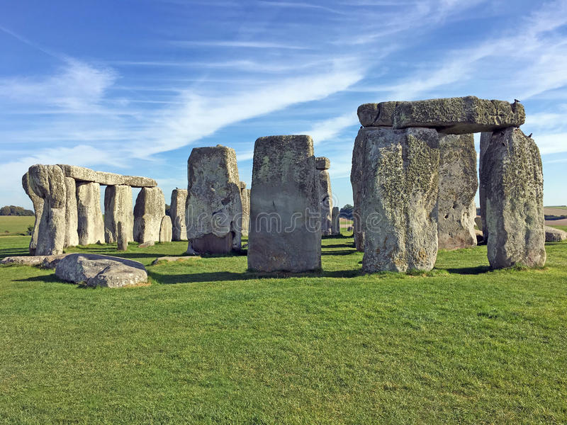 stonehenge Англии стоковые фотографии rf