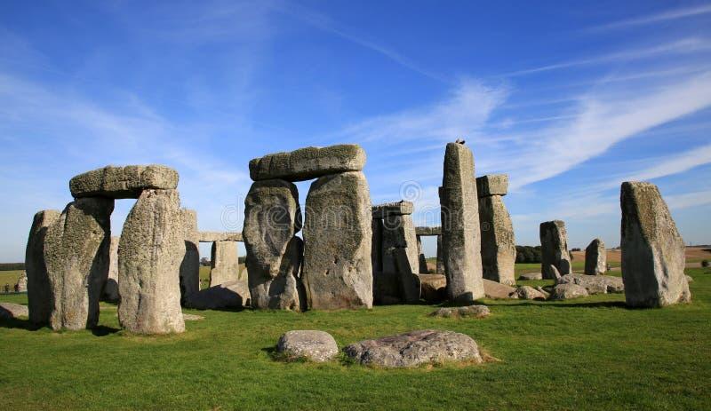 stonehenge Англии стоковые изображения rf