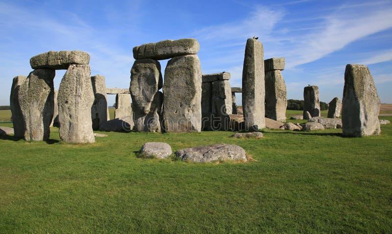 stonehenge Англии стоковое изображение rf