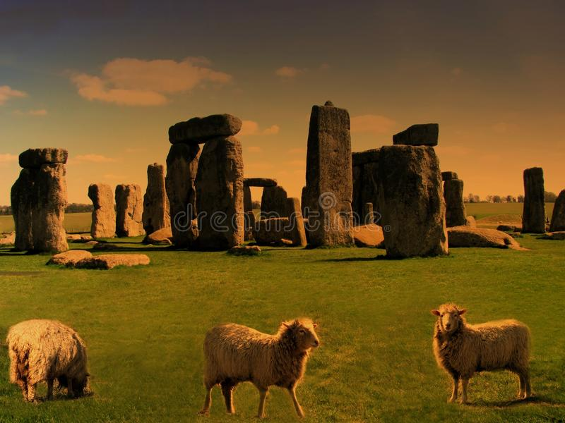 stonehenge zdjęcie stock