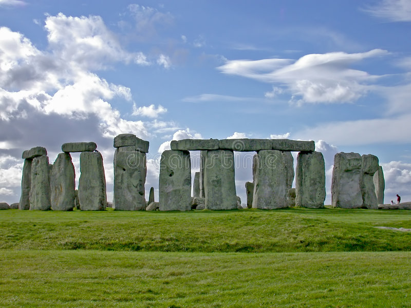 stonehenge стоковые фотографии rf