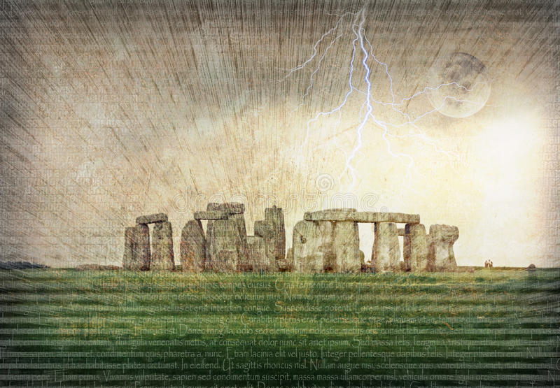 Stonehenge libre illustration