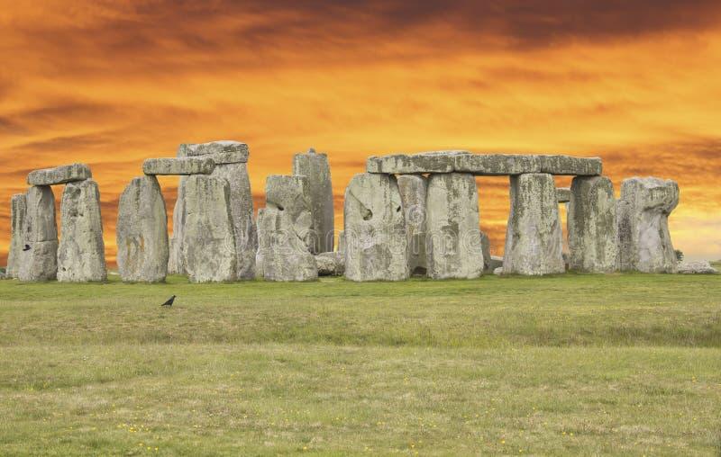 stonehenge 库存照片