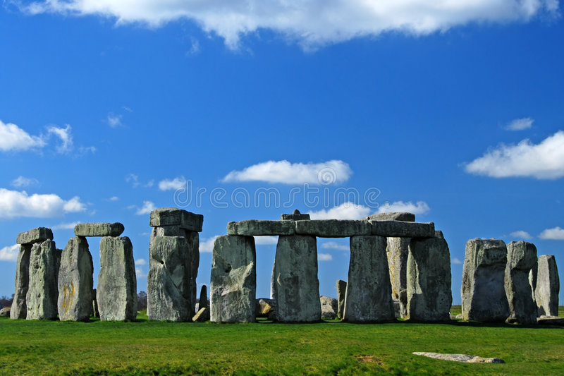 Stonehenge. A world heritage site in Wiltshire UK