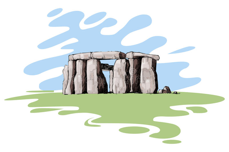 Stonehenge libre illustration