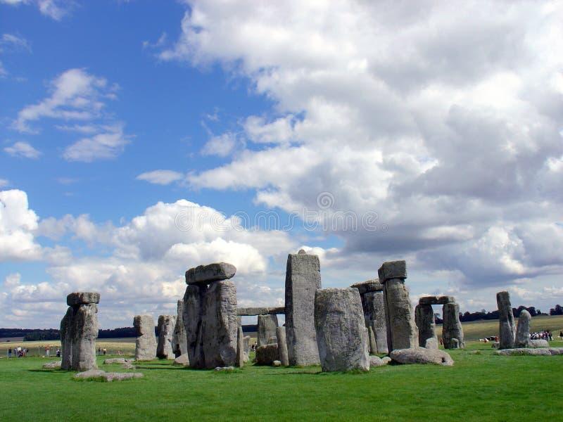 stonehenge 免版税库存照片