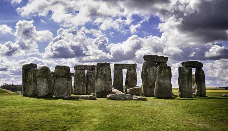 Stonehenge arkivfoton