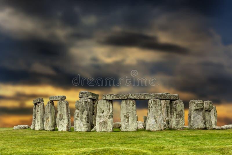 Stonehenge στοκ φωτογραφία με δικαίωμα ελεύθερης χρήσης