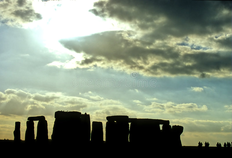 Download Stonehenge fotografering för bildbyråer. Bild av lägen - 507041