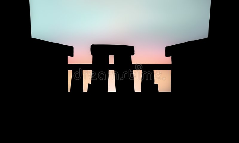 Stonehenge vector illustratie