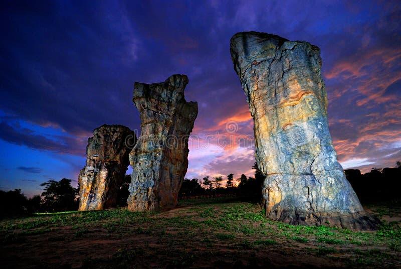 Stonehenge fotografia de stock