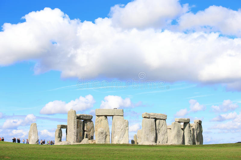 Stonehenge in the prairie stock photography