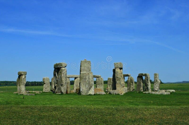 Stonehenge, an ancient prehistoric stone monument. Stonehenge an ancient prehistoric stone monument near Salisbury, Wiltshire, UK stock images