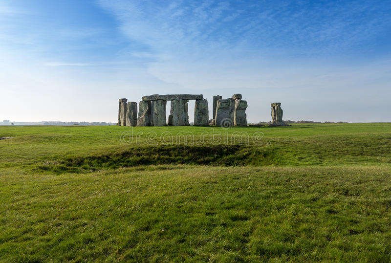 Stonehenge au WILTSHIRE R-U photos stock