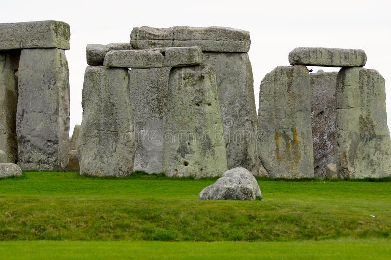 Stonehenge On A Cloudy Day stock photography