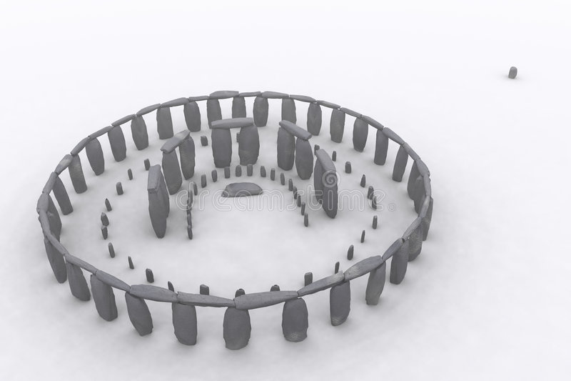 Stonehenge como era libre illustration