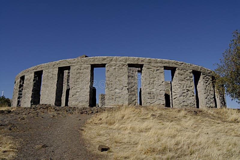 Stonehenge _depilcate ВАШИНГТОНА STATE/USA стоковое фото rf