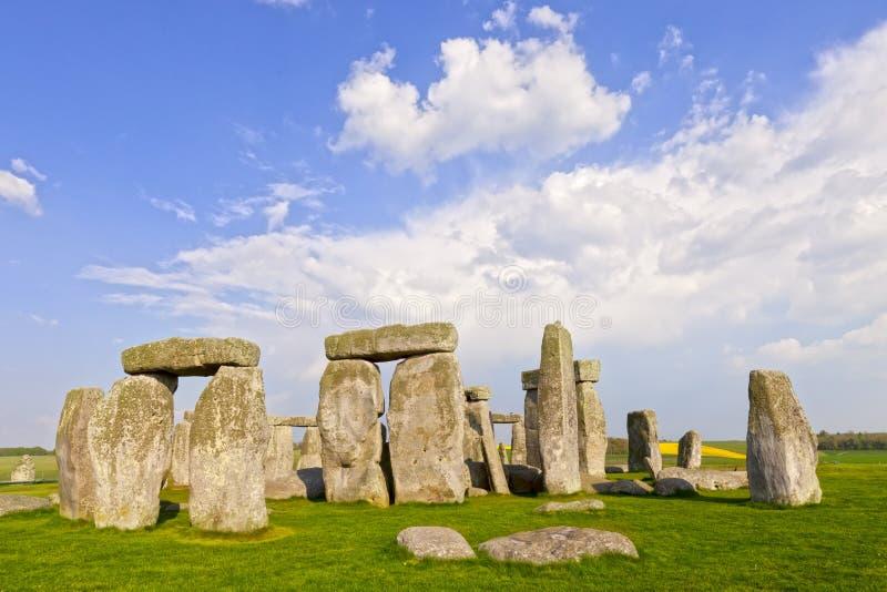 Stonehenge domarring, Wiltshire, England royaltyfria foton