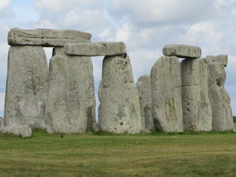 Stonehenge --en förhistorisk anseendestenmonument som lokaliseras i England royaltyfri foto