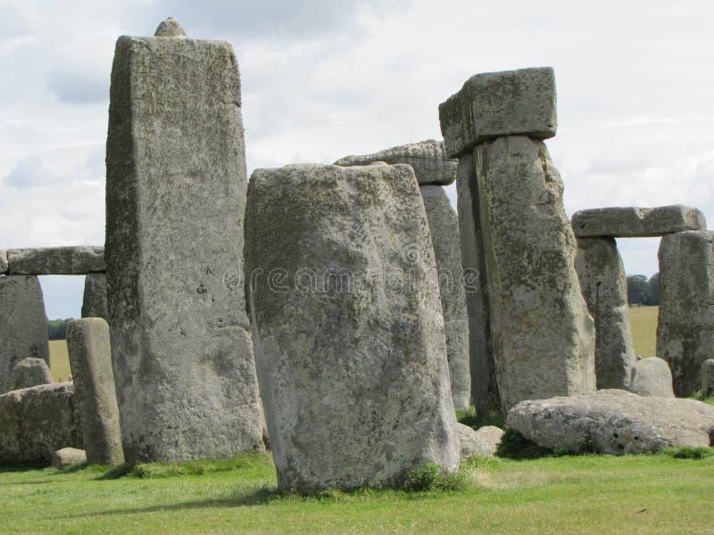 Stonehenge --en förhistorisk anseendestenmonument som lokaliseras i England royaltyfria bilder