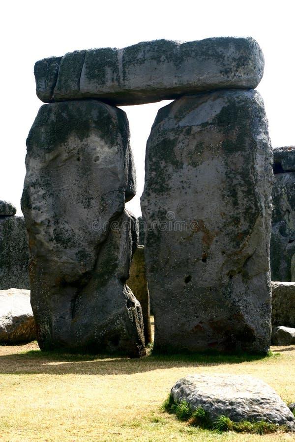 Stonehenge in Engeland Cornwall stock afbeelding