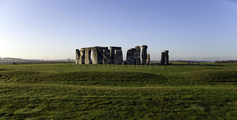 Stonehenge England. Stonehenge was constructed in three phases. It has been estimated that the three phases of the construction required more than thirty million royalty free stock photography