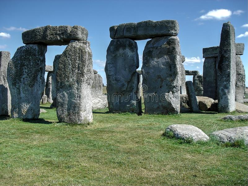 Stonehenge England, natur arkivbild