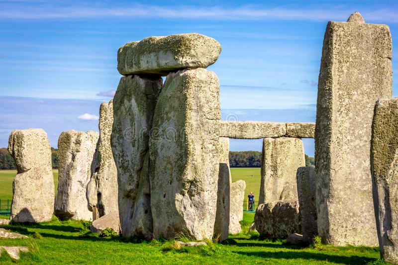 Stonehenge in England royalty free stock photo