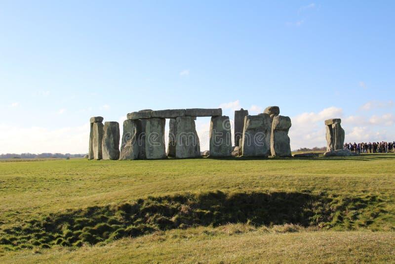 Stonehenge fornminne royaltyfri fotografi