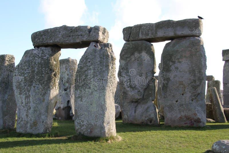 Stonehenge fornminne royaltyfria bilder