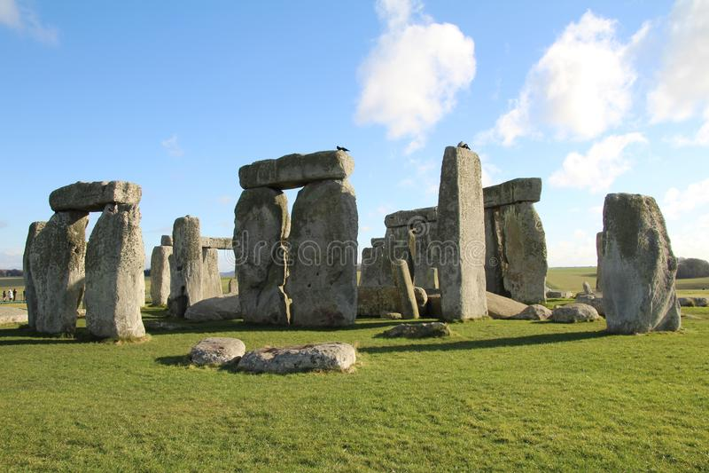 Stonehenge fornminne arkivbild