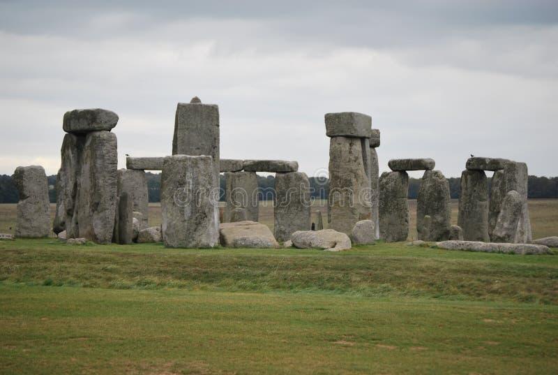Stonehenge in het UK stock afbeeldingen
