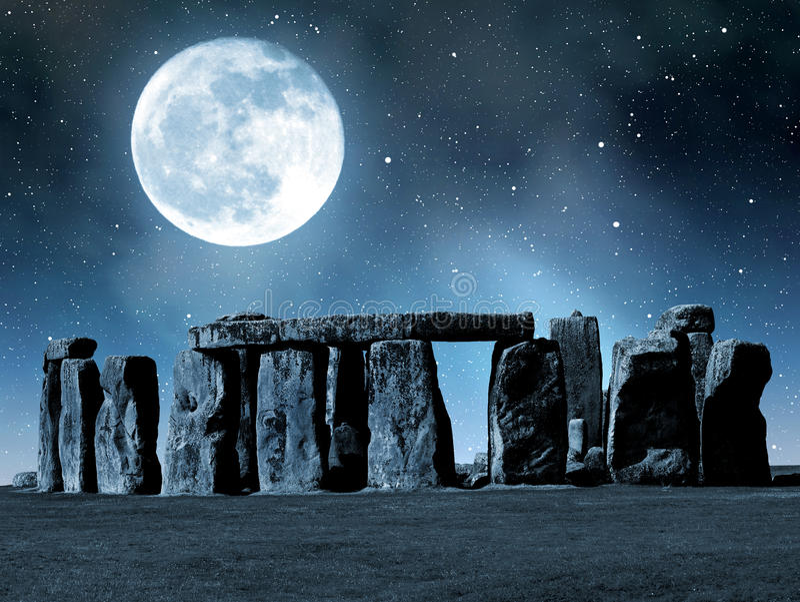 Download Stonehenge stock photo. Image of heritage, night, stonehenge - 39239582