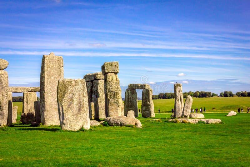 Stonehenge in Inghilterra fotografie stock