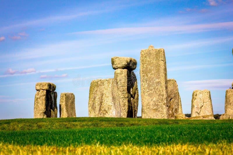 Stonehenge in Inghilterra fotografie stock libere da diritti