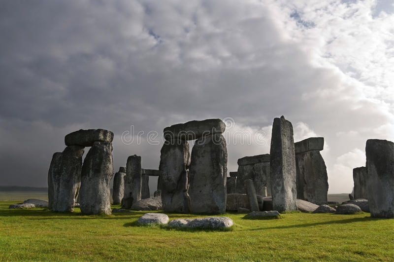 Stonehenge, Inglaterra, Reino Unido imagem de stock