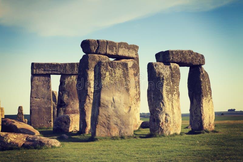 Stonehenge Instagram fotografering för bildbyråer