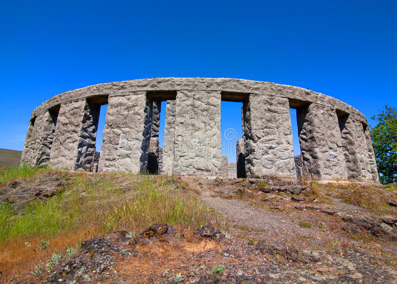stonehenge maryhill стоковое изображение