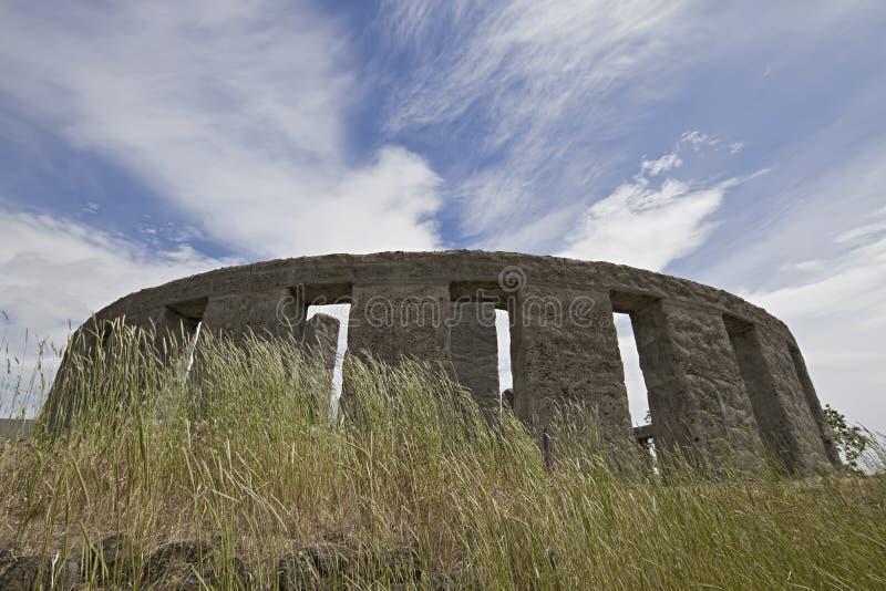 Stonehenge at Maryhill Washington stock image