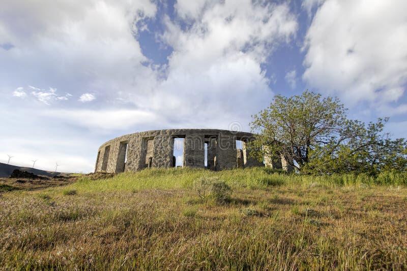 Stonehenge at Maryill Washington royalty free stock photos
