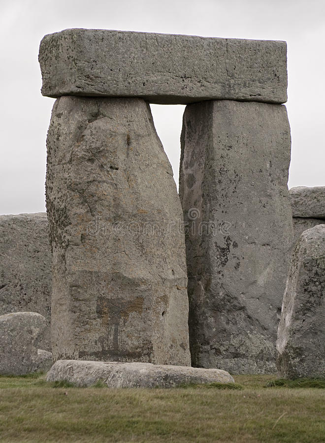 The Stonehenge megalithic monument royalty free stock images