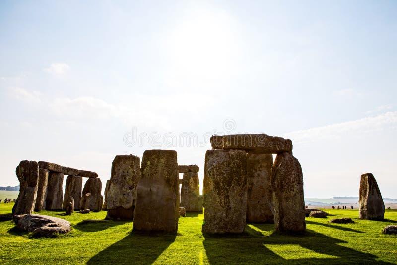 Stonehenge monument at Salisbury planes royalty free stock image